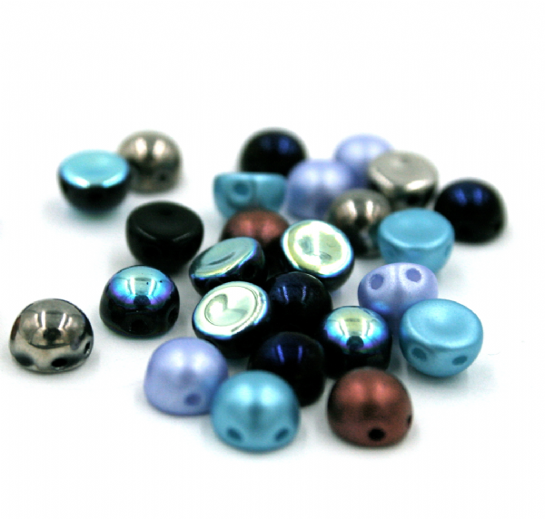 Czech beads - 2 Hole Cabochon